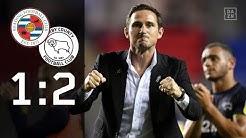 Später Sieg bei Frank-Lampard-Debüt: Reading - Derby County 1:2 | Highlights | Championship | DAZN