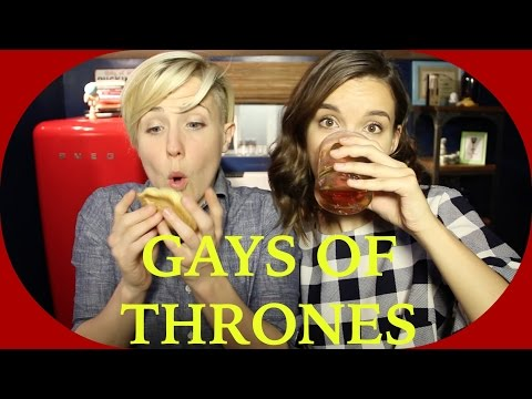 Thumbnail: MY DRUNK KITCHEN: Gays of Thrones!
