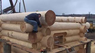 Эксклюзивная деревянная русская баня (дикий сруб)(Защитные составы для древесины http://dneprkraska.com.ua/catalog/sostavy-dla-ban-i-saun/, 2013-01-09T17:26:01.000Z)
