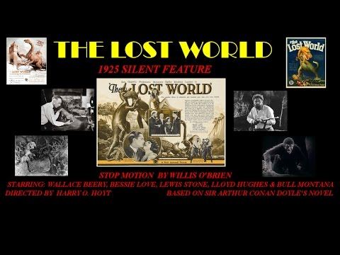 The Lost World 1925 silent feature Willis O'Brien dinosaurs stop motion Wallace Berry