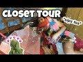 TOUR POR MI CLOSET :D