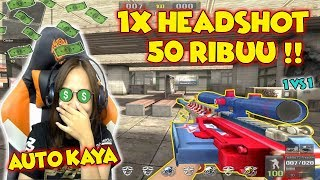 BY1 AWP 1X HEADSHOT DIKASIH 50RB! AUTO JADI SULTAN - Point Blank Indonesia