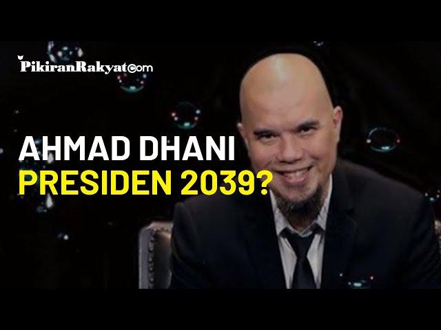 Blak-blakan di Depan Ketua MPR, Ahmad Dhani: Pokoknya 2039 Saya Presiden