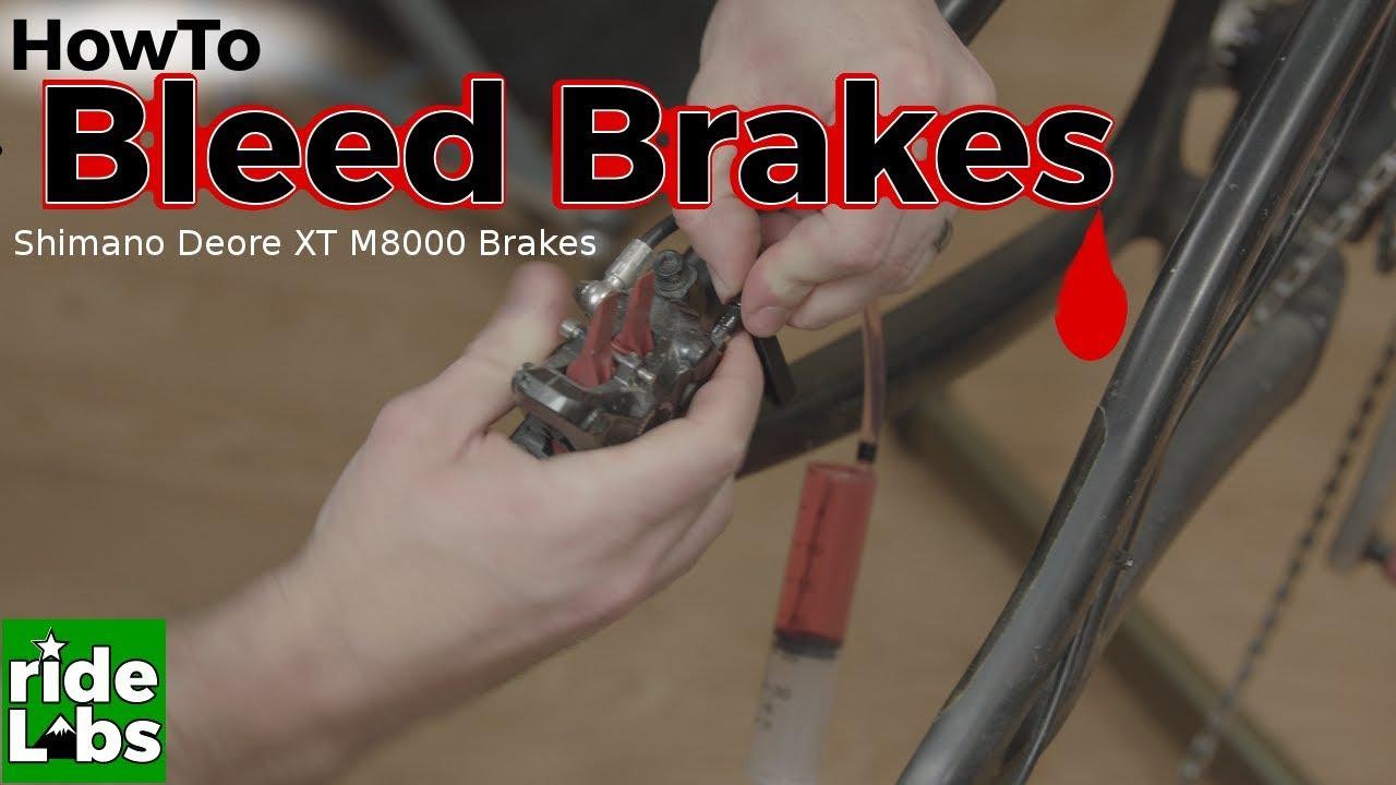 015da774560 How to bleed m8000 brakes | Shimano Deore XT M8000 brakes - YouTube