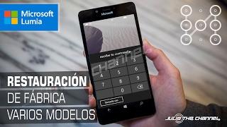 Restaurar Desbloquear Teléfono Microsoft   Todos los Modelos RM-1034