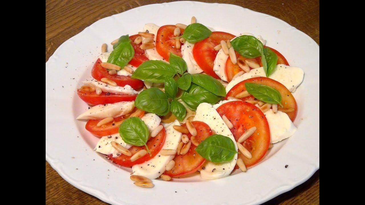 Tomate mozzarella würzen