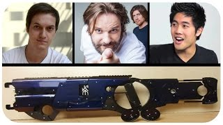 Über YouTuber, die Schuld an deutscher Politik sind - DIY Laser-Kanonen - IS (Urlaubs-Folge)