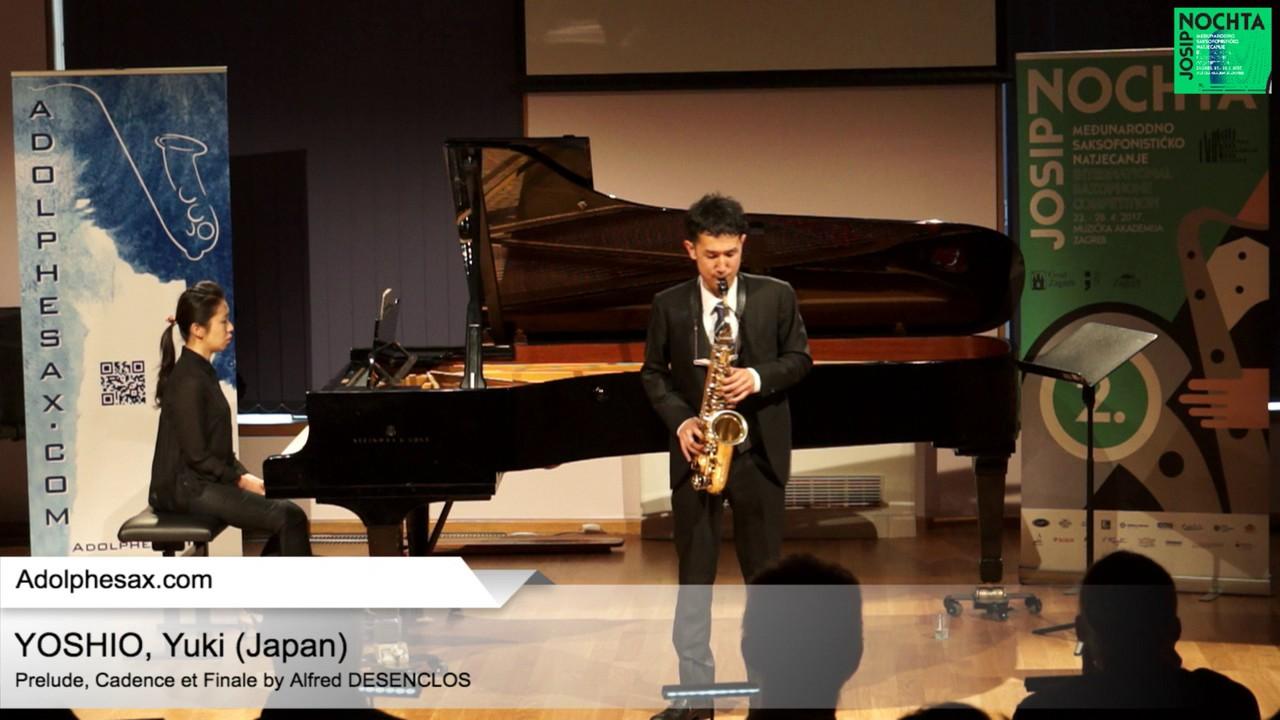 Prelude, Cadence et Finale by Alfred Desenclos – YOSHIO, Yuki (Japan)
