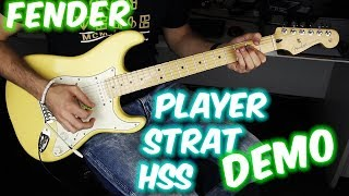 Fender Player Stratocaster HSS (demo)