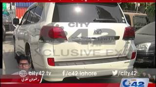 42 Breaking: Customs Intelligence squad seizes smuggled V8 Land Cruiser