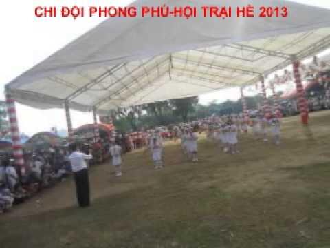 Duyệt nghi thức - CHI ĐỘI PHONG PHÚ .HỘI TRẠI HÈ 2013