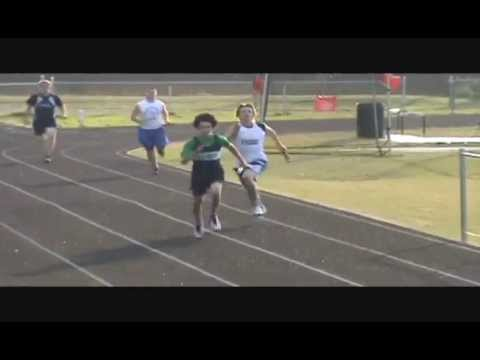Tyler Brays Last Track Meet For Belmont Middle School