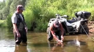Рыбалка на квадроциклах РМ 800  Рыболовные экспедиции № 1