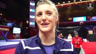 Illini W Gymnastics Mary Jane Horth - Post-B1G Championships - 3/18/17