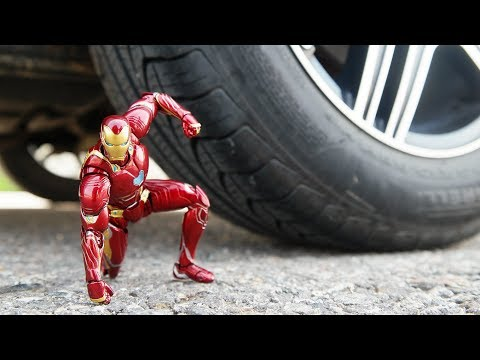 CAR VS IRON MAN 3