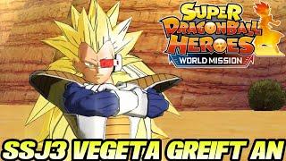 SSJ3 Vegeta greift an! 😱 # 4 | Super Dragon Ball Heroes World Mission Deutsch