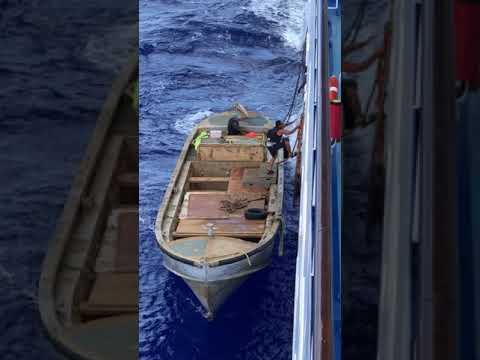 Pitcairn Islanders Done Boarding Oceania Marina