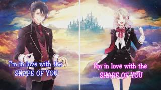 [Nightcore] Shape Of You - Ed Sheeran (Switching Vocals)