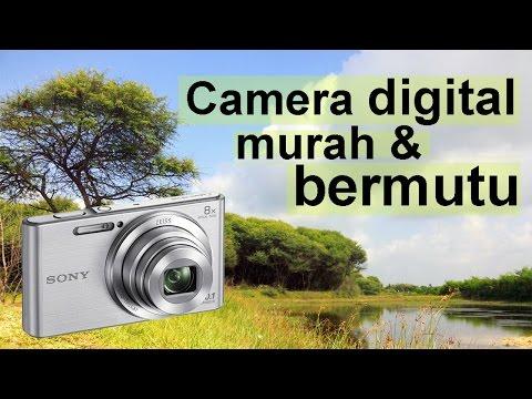Camera digital murah & bermutu - Sony CyberShot DSC-W830