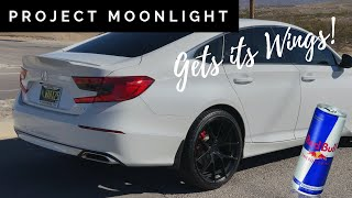🔥Project Moonlight Gets it's Wings - Duckbill install on 2018 - 2019 Accord Sport🔥