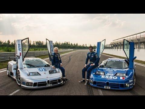 In pista con le Bugatti EB110 da gara (Le Mans & IMSA) - Davide Cironi Drive Experience (SUBS)