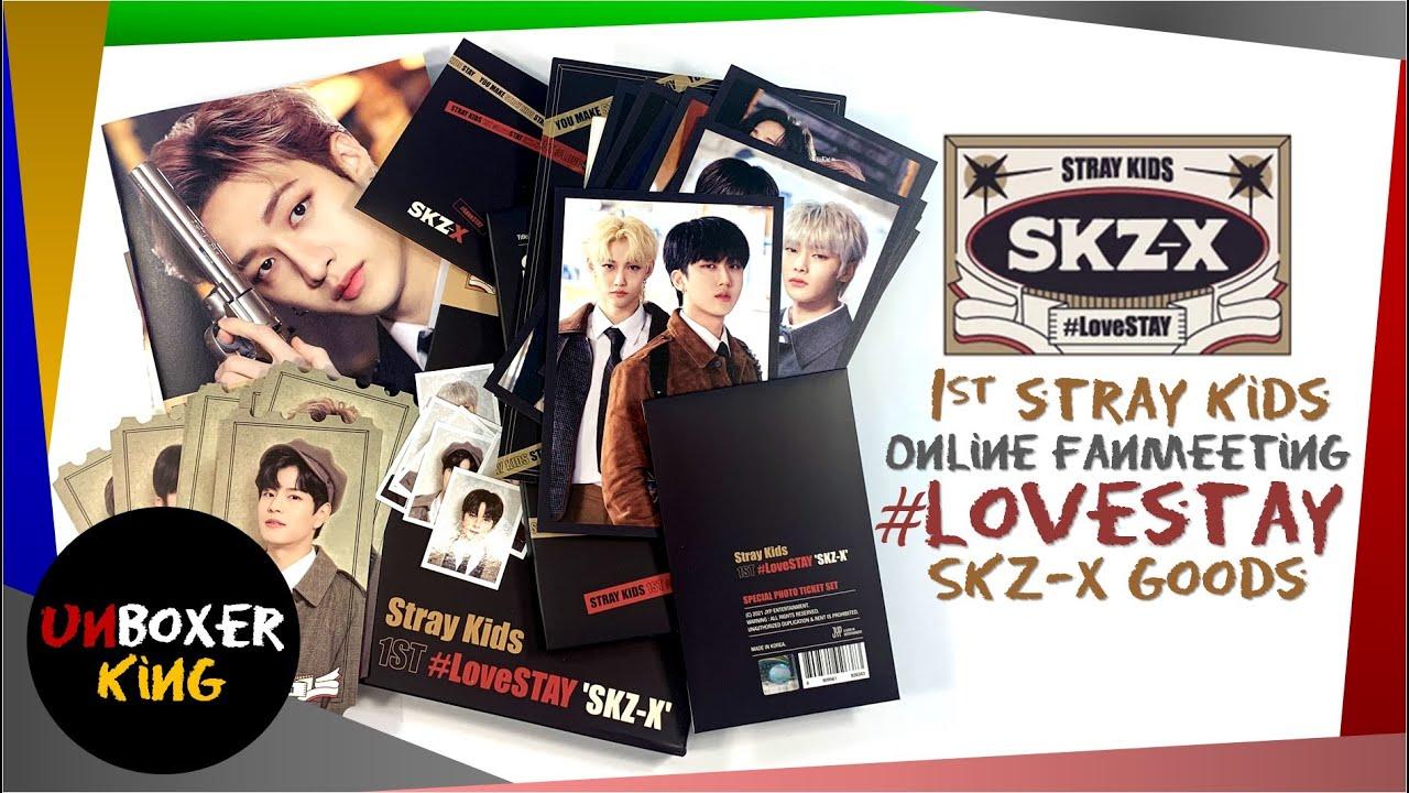 Stray Kids 스트레이키즈 🔍📷🔦👓📚 1st Stray Kids #LOVESTAY Online Fanmeeting SKZ X Merch Unboxing