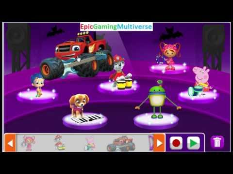 Nick Jr. Music Maker Gameplay Part #1