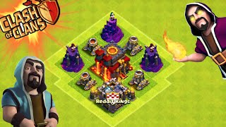 """Clash of Clans - """"WIZARD TOWER / MORTAR DEFENSE!"""" Will it Work? Champions League Weird Defense!"""