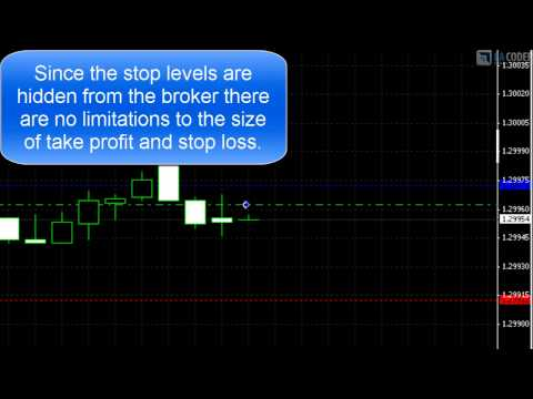 Stealth EA - Low Take Profit and Stop Loss levels of 1 pip