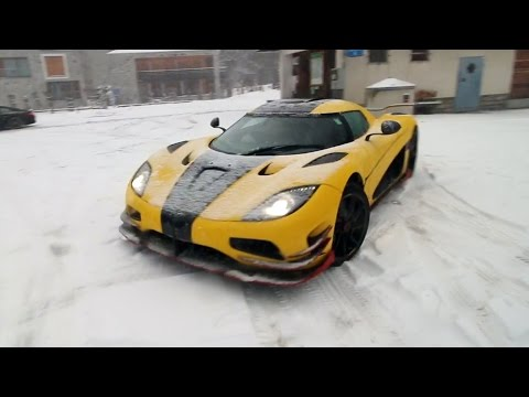 "Koenigsegg Agera RS ""ML"" Conquers Winter in the Swiss Alps!"