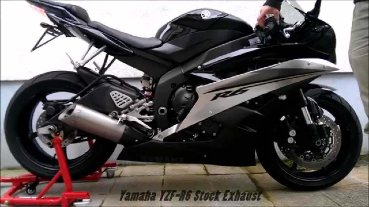 2007 R6 Wiring: YAMAHA R6 2007 Stock Exhaust Sound