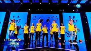 Трио Paradise - X Factor Live (10.11.2015)