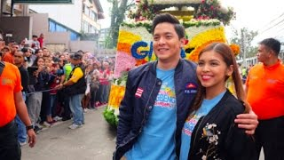eat bulaga march 31 2017 look panagbenga2017 officially started with alden and maine   part 1