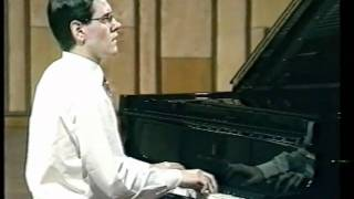 Daniel Ben Pienaar plays Bach's Partita no  5 in 1992