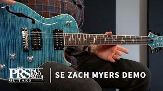 The SE Zach Myers   Demo by Bryan Ewald   PRS Guitars