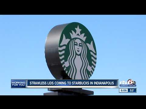 Starwless lids coming to Starbucks locations in Indianapolis