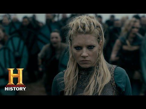 Vikings: Aslaug Asks Lagertha for Safe Passage (Season 4