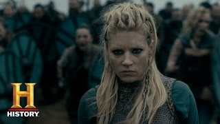 Vikings: Lagertha Takes Back Kattegat (Season 4, Episode 13) | History