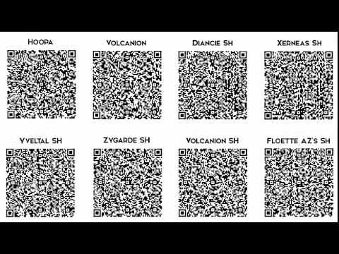 qr code de zygarde shiny , ... - YouTube
