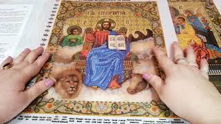 НОВЫЕ СХЕМЫ И ПОДБОР МАТЕРИАЛОВ К ПОЧАЕВСКОЙ БОГОРОДИЦЕ