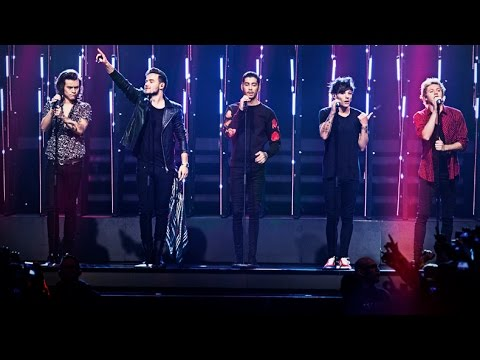 One Direction sjunger Steal my girl under finalen av Idol 2014 - Idol Sverige