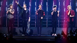 One Direction - Steal my girl - (LIVE Swedish Idol)