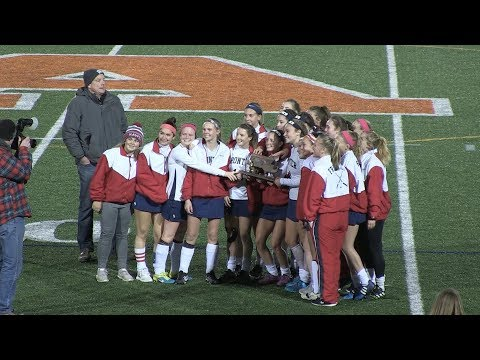 Frontier Regional School Girls Field Hockey vs Greenfield   DII Western Mass FINAL