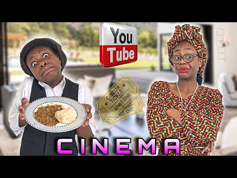 AFRICAN HOME: NEVER ASK TO GO TO THE CINEMA IN AN AFRICAN HOME !