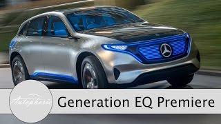 NEWS: Mercedes-Benz Generation EQ Weltpremiere Elektro SUV-Coupé - Autophorie