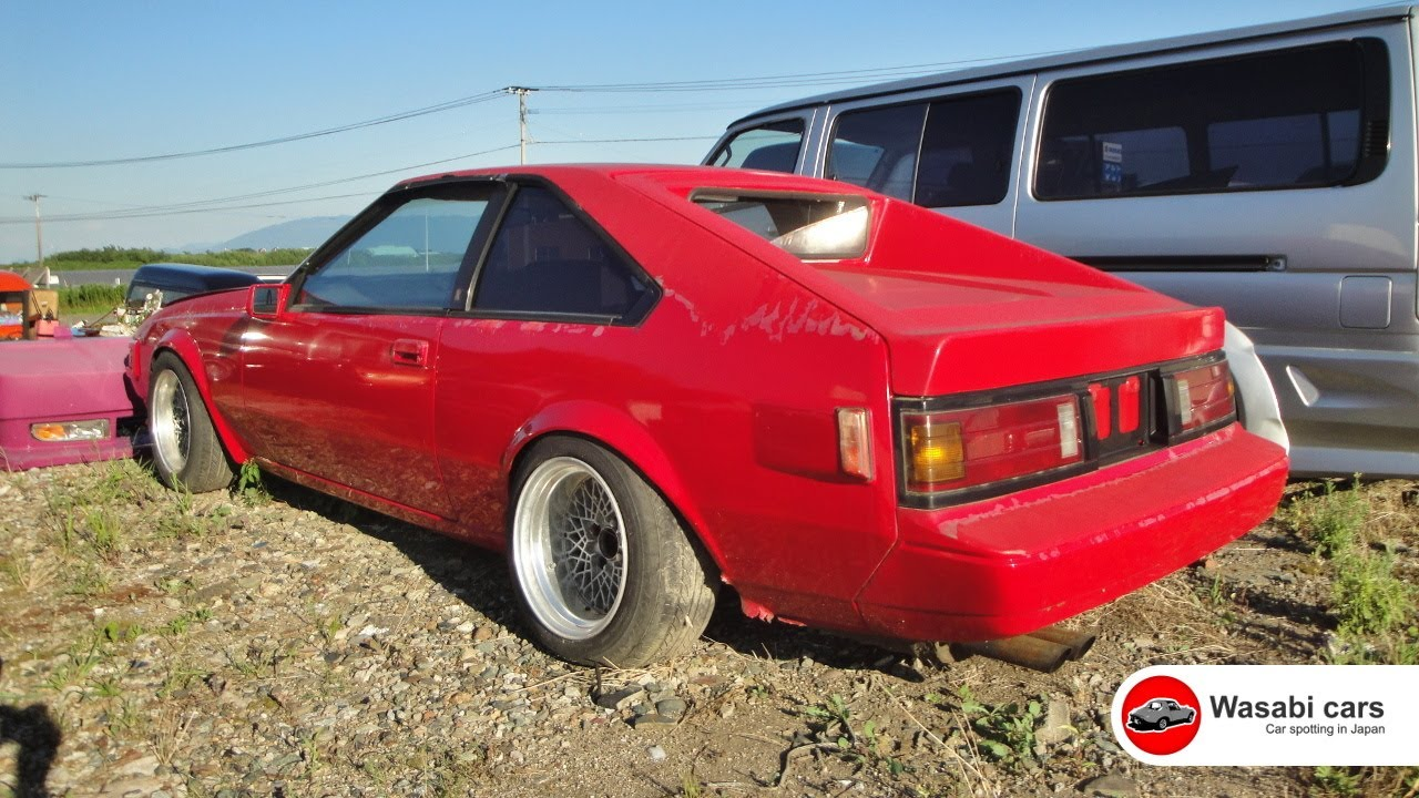 Permenantly Parked A Modified 1983 Toyota Celica Xx Gt