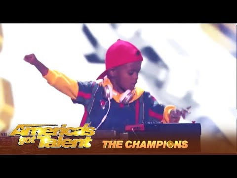 DJ Arch Jr: The YOUNGEST DJ In The World Comes To America! | America's Got Talent: Champions