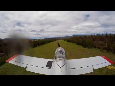 RV-4 Landing at Chamberlain Basin Airstrip