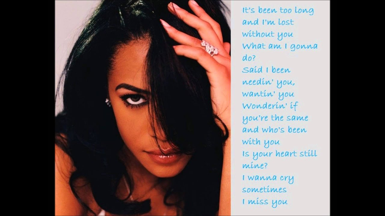 AALIYAH - I DON'T WANNA LYRICS - SONGLYRICS.com