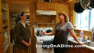 Family Of 6, $1,000/ Month, 1 Tiny House / How To Live On One Income